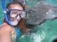 Snorkeling with the sting rays, Caye Caulker, Belize