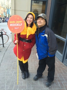 Taking the streets to help others as the Edo Elf!