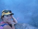 Crater rim of Volcan Telica, Nicaragua