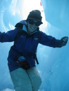 Ice caving, Franz Josef Glacier, New Zealand