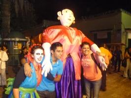 Dia Del Muertos Street Parade, Oaxaca, Mexico