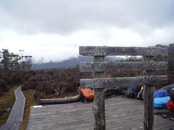 The Overland Track Part Two – Mount Ossa, The Top of Tassie
