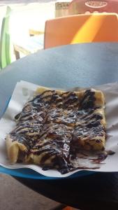 Who couldn't use a banana roti pancake?