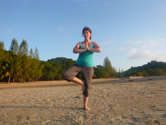 My First Yoga Retreat